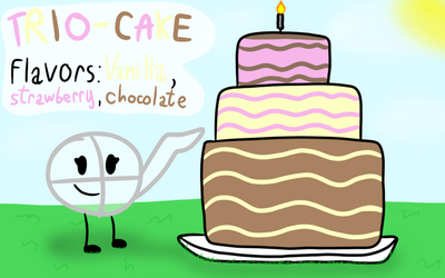 CampCoolCrisp Challenge 1 Entry: The cake by The-Creative-Sketchy