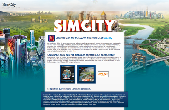 SimCity CSS - Updated by GillianIvy