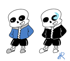 Sans the Skeleton by SkeletalStar