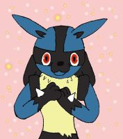 Lucario: Can i have cookie? by Fangy-From-Shadow