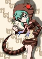 Kemono Friends - Tsuchinoko by ScarletJewelCV05