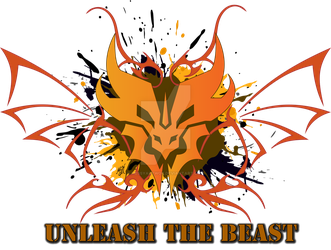 Predacon Grunge Design - UNLEASH THE BEAST by MessyArtwok
