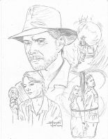Raiders Of The Lost Ark by StevenWilcox