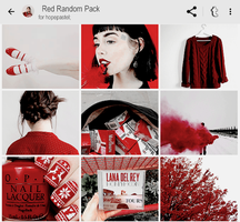 Red Pics By Hopepastel by sixcoloring