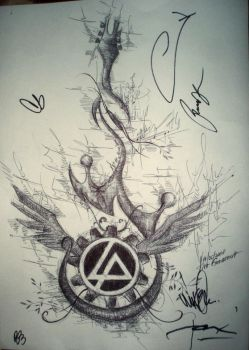 Meet and Greet Linkin Park 2 by guardian-devils