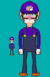 IT'S A-ME, WAH HAH HEEEEEEEEEEEEEEEEEEEEEEEEEEEEEE by DoubleONine