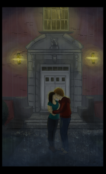 Love in the Rain by Silverpaperplate