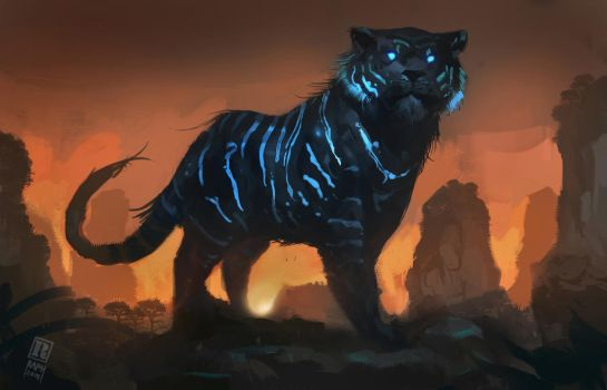 Mystic Tiger by Raph04art