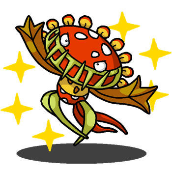 Carnivine + Petey Piranha (Super Mario Series) by shawarmachine