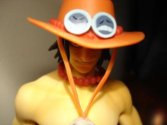 One Piece Ace by kungfudugong