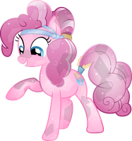 Crystal Pinkie Pie by TheShadowStone