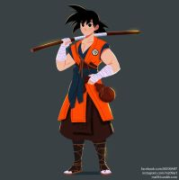 Son Goku by MZ09