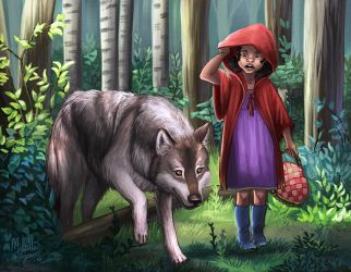 Red Riding Hood by mallettepagan0