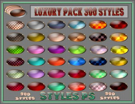 Luxury pack  300 styles  Ps by Laurent-Dubus