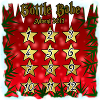 Bottle Babe Advent   OPEN   9/12 by CrystalQuill