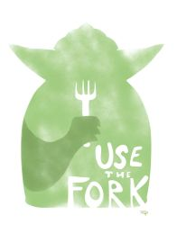 Use The Fork - Jedi by DenisM79
