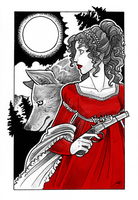 Gift Art - The Wolf's Bride by Sleyf