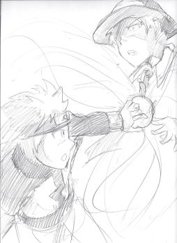 Commission: Naruto vs Hazama by Path-Of-NoEnd