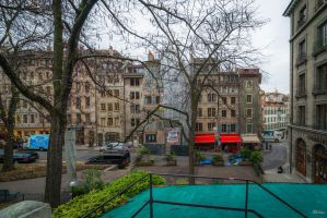 November morning in Geneva by Rikitza