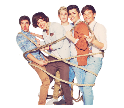 One Direction png by LucyWayne