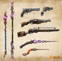 Weapons by kristiansundin