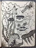 Organic Zentangle by 8Annett8