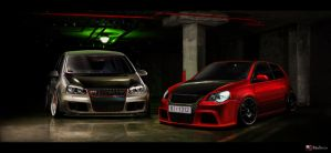 VW brothers in arms by RibaDesign