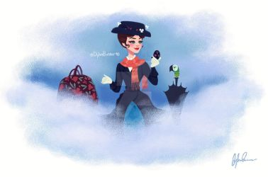 Mary Poppins by DylanBonner