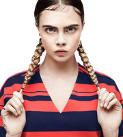 Cara Delevingne PNG 2015 by WhiteQween