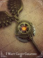 HANDMADE - Steampunk Key Preview by IWantCandyCreation