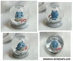 Mini Snow Globe - Spheal