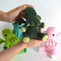 Cthulhu plushies (new colors) by falauke