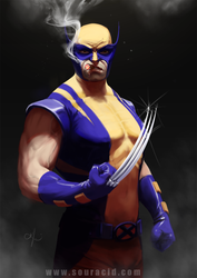 Wolverine by SourAcid