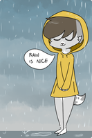 Rain Is Nice by QTipps