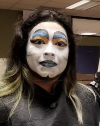 Spirit week face paint by DreamWithinTheHeart