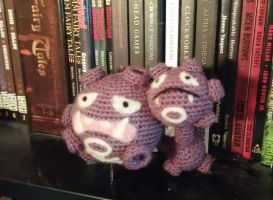 Weezing Amigurumi by Wykked-As-Syn