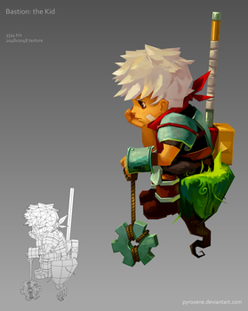 Bastion: the Kid by Pyroxene