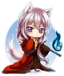 KH: Wild Tomoe by Kay-I