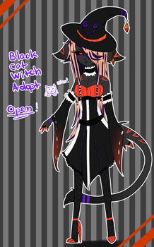 Witch Adopt (CLOSED) by ariichai