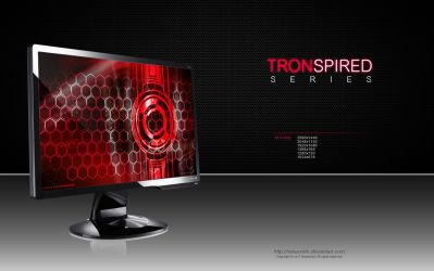 Tronspired Red by CylenthVision