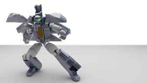 Transformable Robot Modeled by Alimayo Arango by alimayo