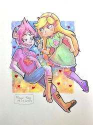FanArt:. Star Butterfly and Tom Lucitor by Magic-Ray