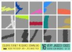 100x100 Icon Brushes: Set 01 - Very Jagged Edges by colorfilter