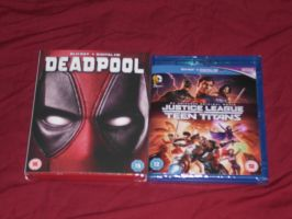 Superheroes + Mercenaries-A post Holiday purchase by Foxy-Knight