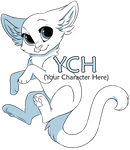 Cat YCH [CLOSED] by Kamirah