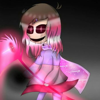 Glitchtale - Betty(HATE) by SuhaiCo