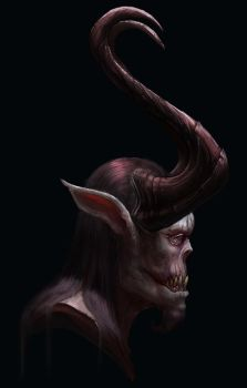 Demon Horn by NickDeSpain
