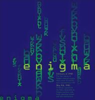 Enigma Type Poster 2 by Crutchfield-Creative