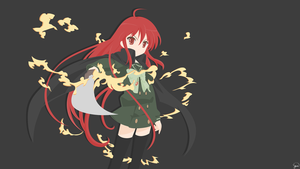 Shana {Shakugan no Shana} Vector by greenmapple17