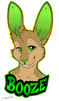 Con Badge: Booze by StangWolf